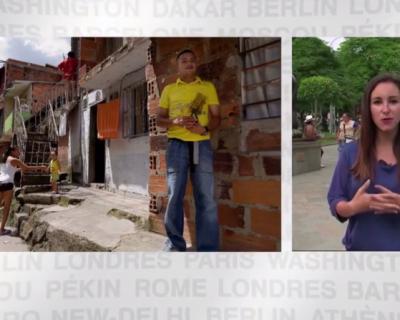 La ville de Medellin lutte contre la violence à travers l'éducation? (Télématin, 11 juin 2016)