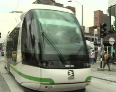 Un tramway alsacien à Medellin en Colombie (France 3, mai 2016)